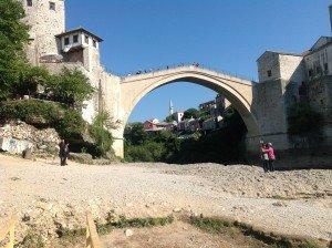Le pont de Mostar reconstruit en 2004