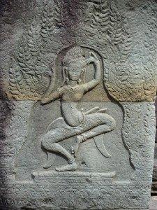 L'Apsara continue de danser